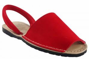 Sandalia señora DUENDY 9350 rojo