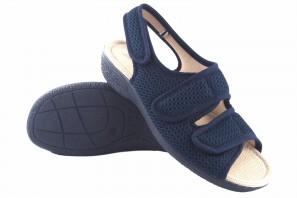 Zarte Füße Dame BEREVERE v 6070 blau