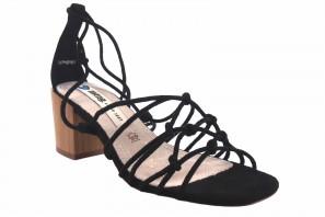 Sandale femme MUSTANG 50479 noir