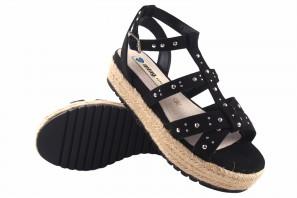 Sandale femme MUSTANG 50773 noir