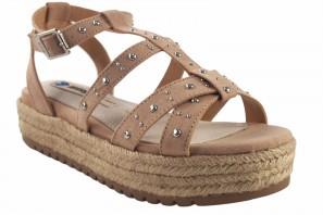 Sandale femme MUSTANG 50773 beige