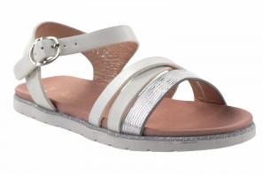 Sandale fille BUBBLE BOBBLE a3004 blanc