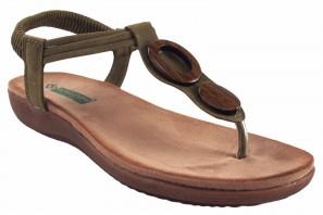 Sandalia señora AMARPIES 17063 abz kaki
