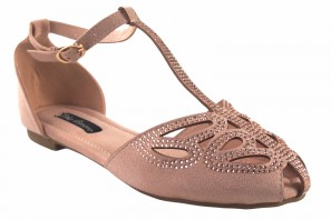 Chaussure femme BEBY 19067 rose