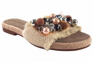 Sandale femme BEBY 19059 beige