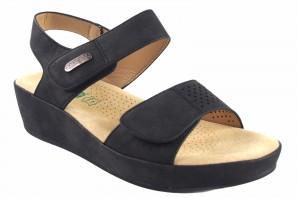 Sandalia señora AMARPIES 17050 abz negro