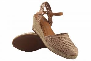Zapato señora D'ANGELA 19486 dxf tostado