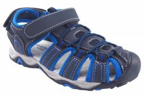 Sandalia niño BUBBLE BOBBLE a3242 azul