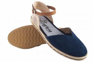 Chaussure femme CALZAMUR 10147 bleu