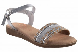 Sandalia señora DUENDY 3205 plata