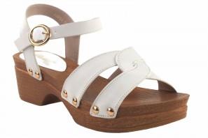 Sandale fille BUBBLE BOBBLE A3014 blanc