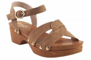 Sandale fille BUBBLE BOBBLE a3014 cuir