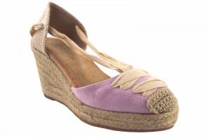 Zapato señora BIENVE 1gk-1081 malva