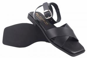Sandale dame EVA FRUTOS cn11 schwarz