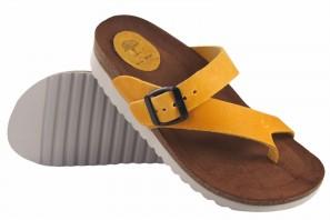 Sandale femme INTER BIOS 7119 mg moutarde