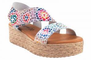 Sandale dame EVA FRUTOS 724 bl.azu
