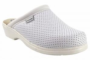 Zapato señora BIENVE 22 zueco anatomico blanco