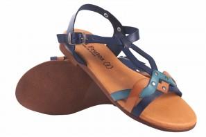 Sandalia señora EVA FRUTOS 9185 azul