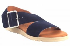 Sandalia señora EVA FRUTOS 1218 azul