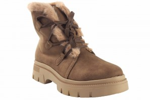Bottines femme MUSTANG 51977 taupe
