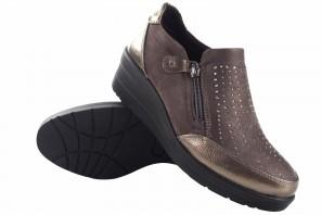 Zapato señora AMARPIES 20351 ajh taupe