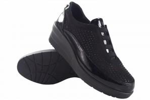 Zapato señora AMARPIES 20352 ajh negro