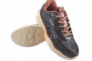 Zapato niña MUSTANG KIDS 48325 plomo