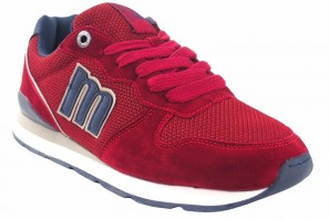 Chaussure homme MUSTANG 84467 rouge