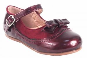 Chaussure fille BUBBLE BOBBLE a3555 bordeaux