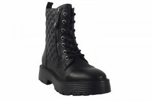 XTI BASIC 36708 schwarze Stiefelette