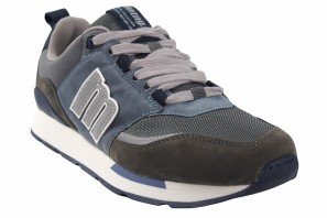 Chaussure homme MUSTANG 84466 gris azur