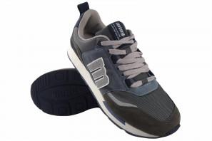 Zapato caballero MUSTANG 84466 az.gris