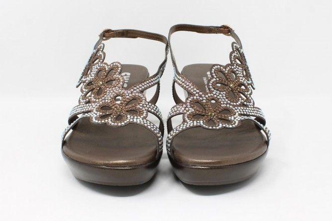 Pies delicados señora BELLATRIX 4219/5034 bronce