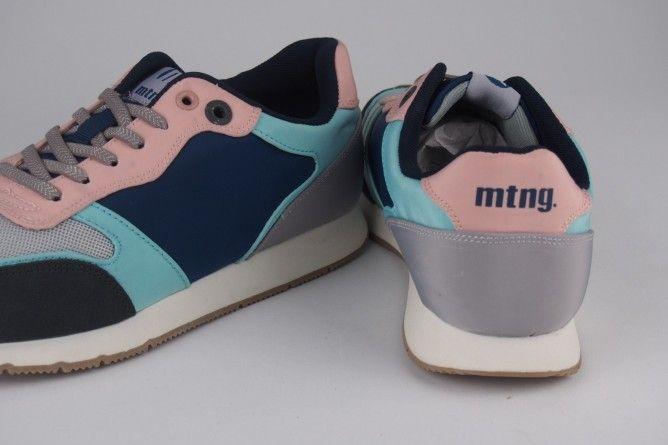 Zapato señora MUSTANG 69128 az.rosa