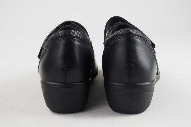 Pies delicados señora RELAX4YOU 1202 negro